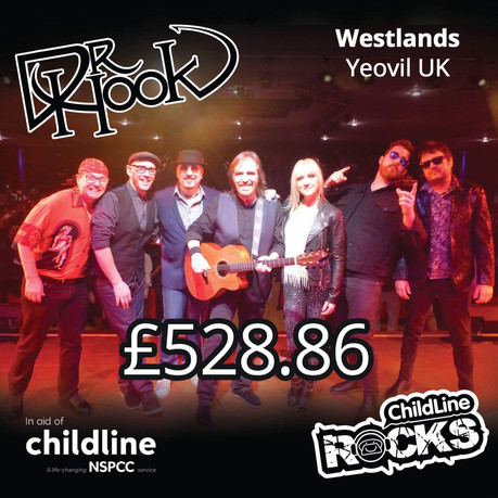 Dr Hook | NSPCC Childline Fundraising | Westlands | Yeovil | UK