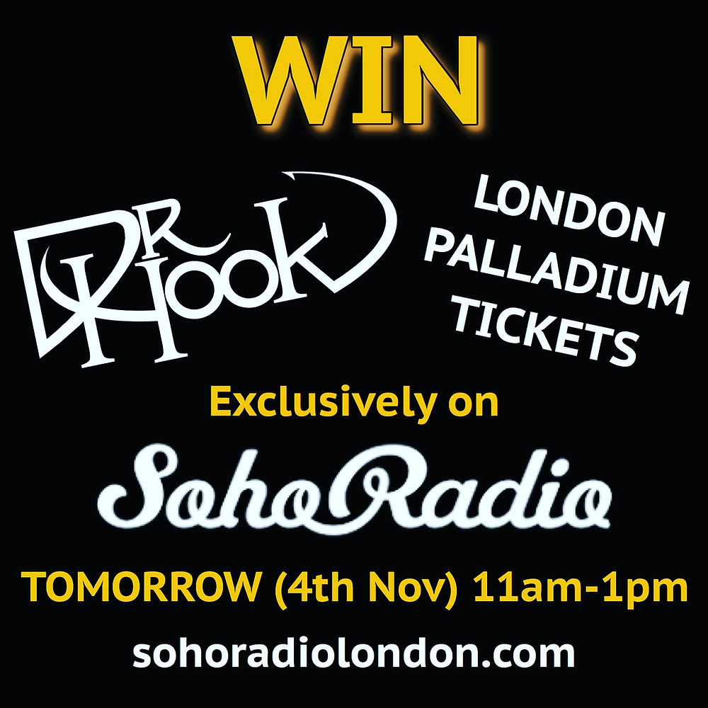 Win | Dr Hook | London Palladium Tickets | SohoRadioLondon.com