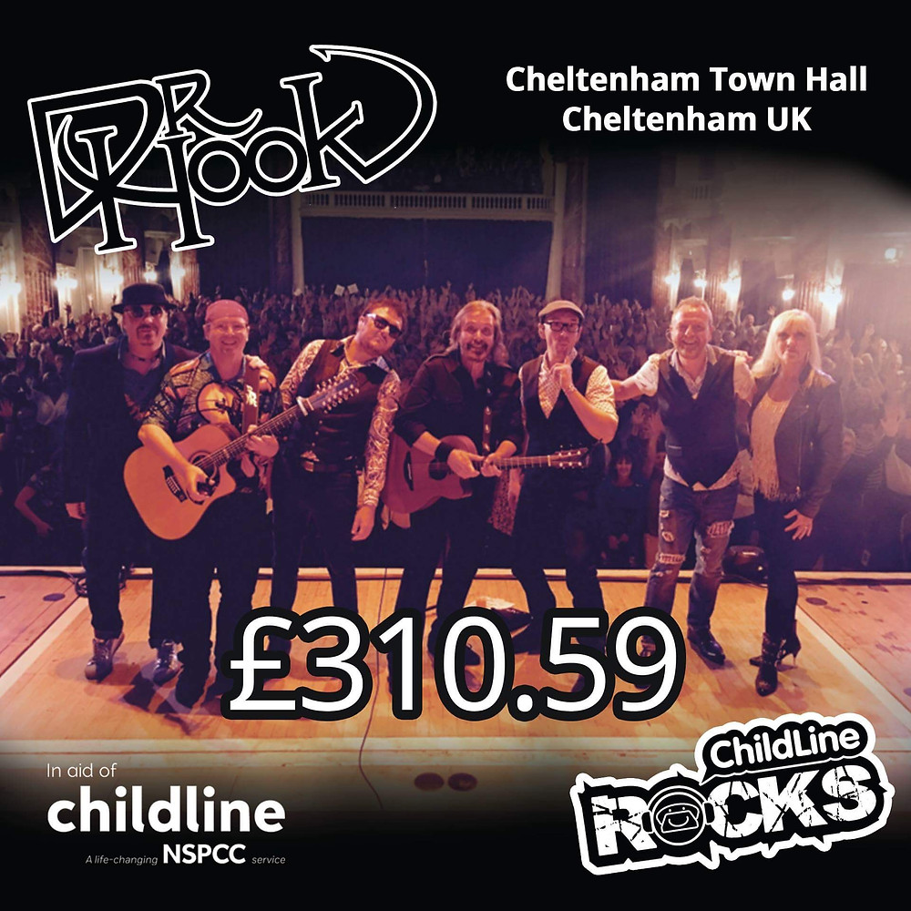 Dr Hook | Fundraising | Childline | NSPCC | Cheltenham | UK | 2017