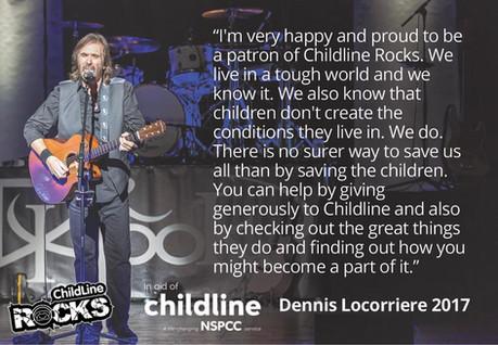 Dr Hook Starring Dennis Locorriere | Childline Donation Information