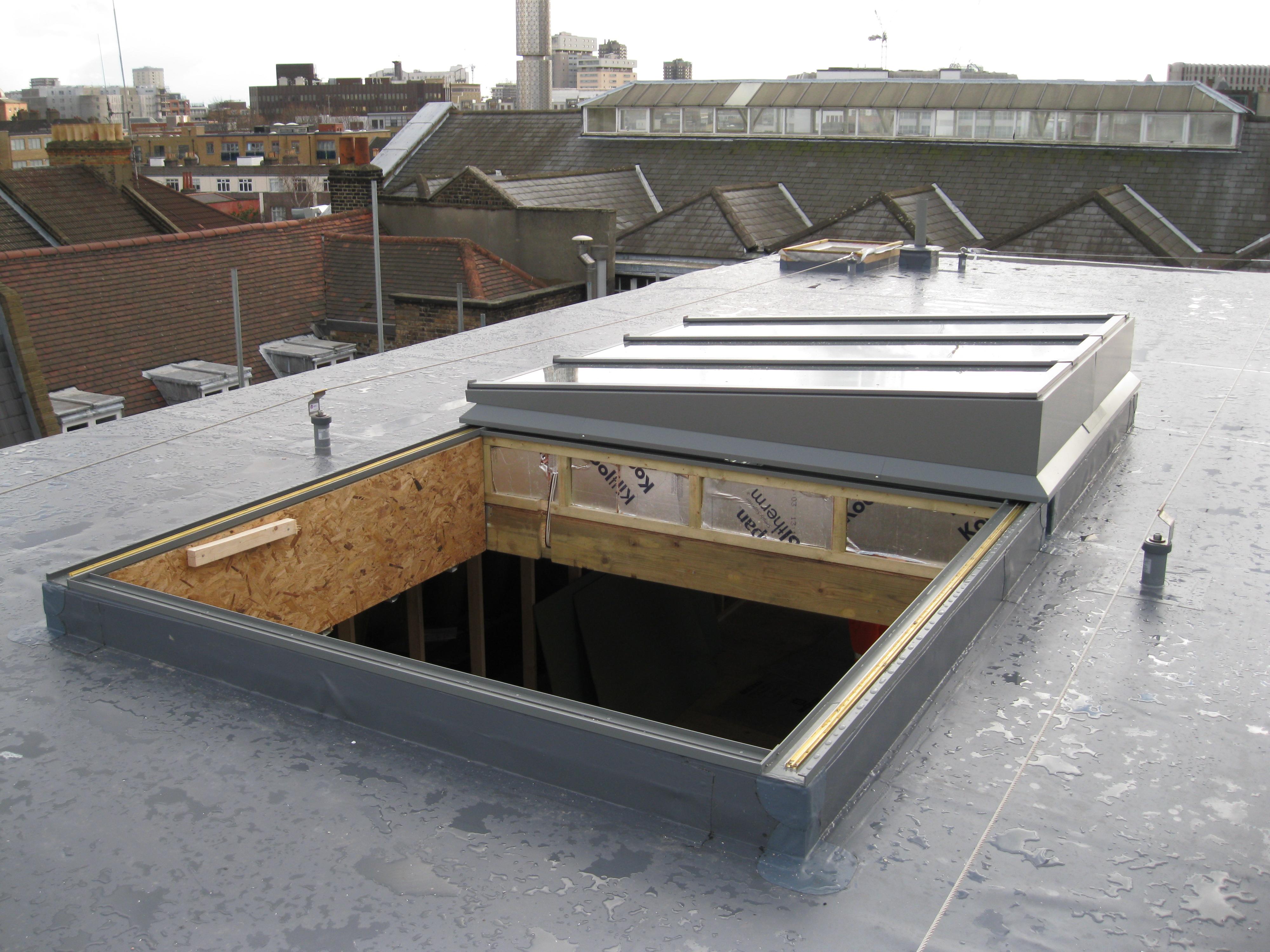 GRHM Fully Retracting, Single Pitch, Slide Open, Glazed Roof, Rooflight, Skylight, Roof Lantern