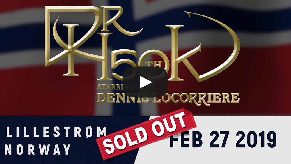 Dr Hook | 50th Anniversary Tour | Norway 2019