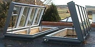 The Perspective Aluminium Glazed Roof System | Ring Beam