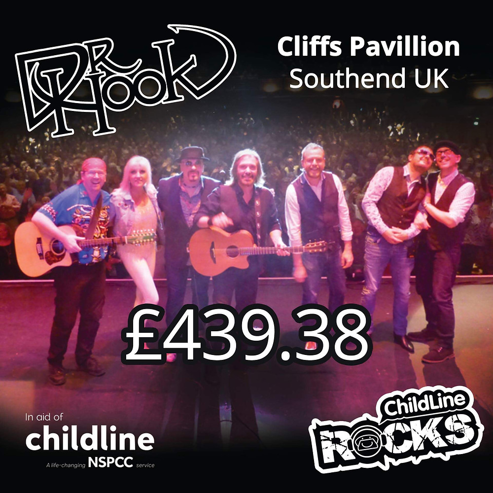 Dr Hook | Fundraising | Childline | NSPCC | Southend | UK | 2017