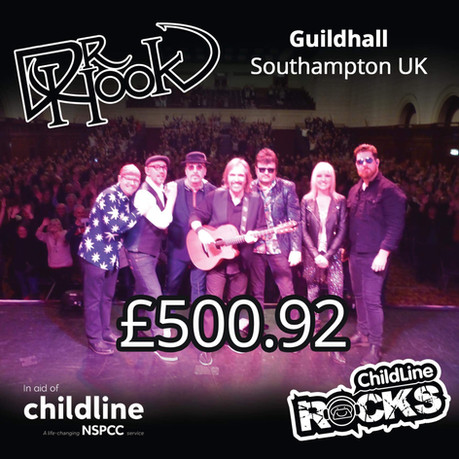 Dr Hook | Fundraising | NSPCC Childline | Southampton