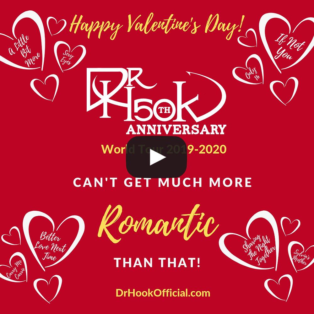 Dr Hook Valentine's Day 2019