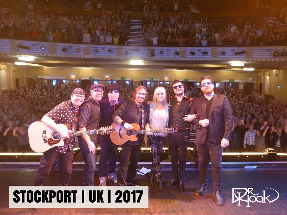 Dr Hook | Audience Selfie | STOCKPORT UK | 2017