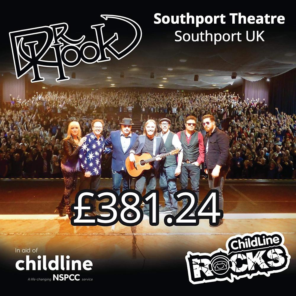 Dr Hook | Fundraising for NSPCC Childline | Southport | UK | 2017