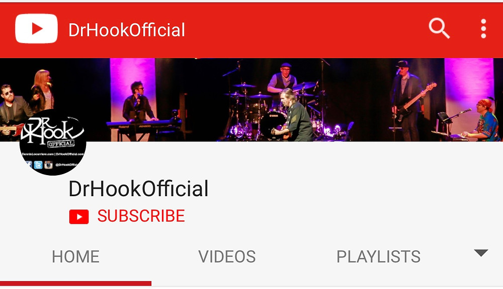 DrHookOfficial | YouTube Channel | Update