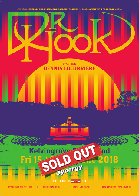 2 of just 3 Dr Hook UK 2018 Dates Sold Out!