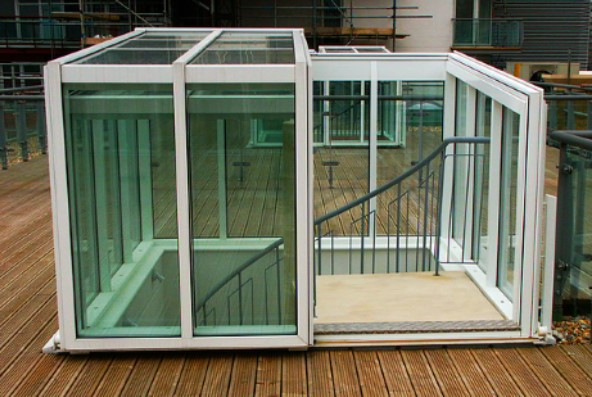 Roof Garden Access Hatch (EW)