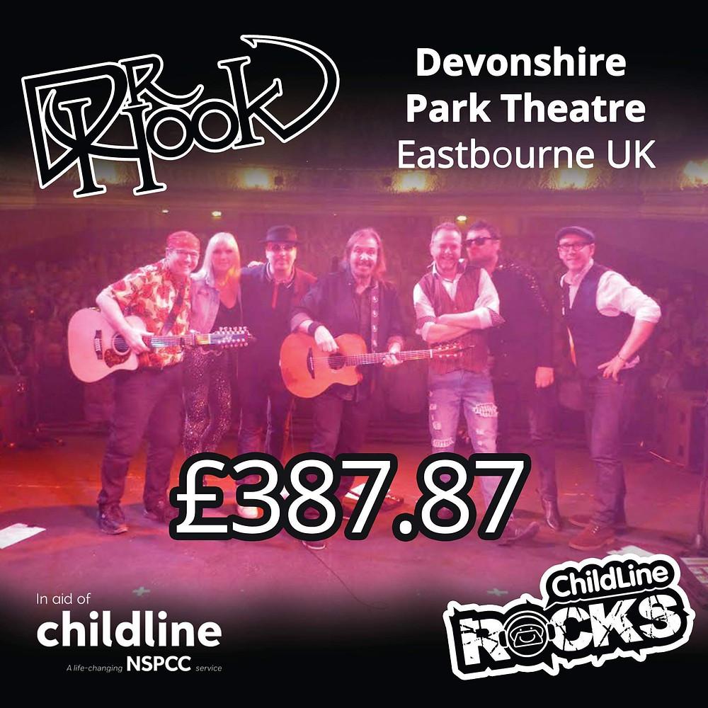 Dr Hook | Fundraising for NSPCC Childline | Eastbourne | 2017