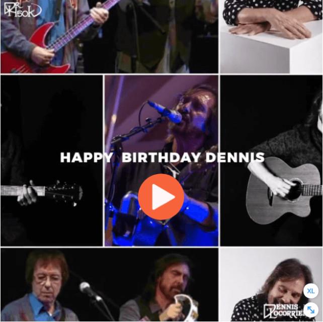 Happy Birthday Dr Hook's Dennis Locorriere