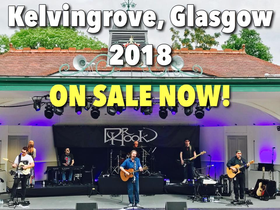 Dr Hook | Kelvingrove Bandstand | 16th June 2018