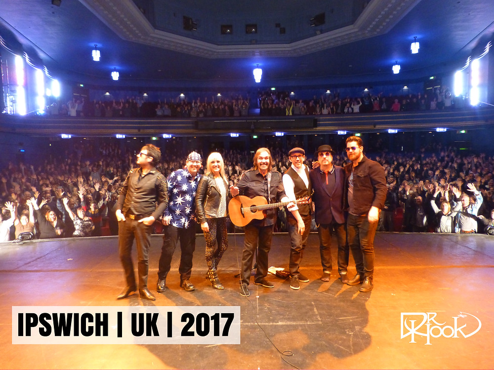 Dr Hook | Audience Selfie | Ipswich | UK | 2017