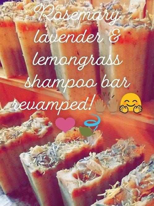Lavender & Lemongrass shampoo bar