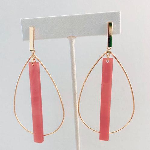 Mauve Hoop Stick