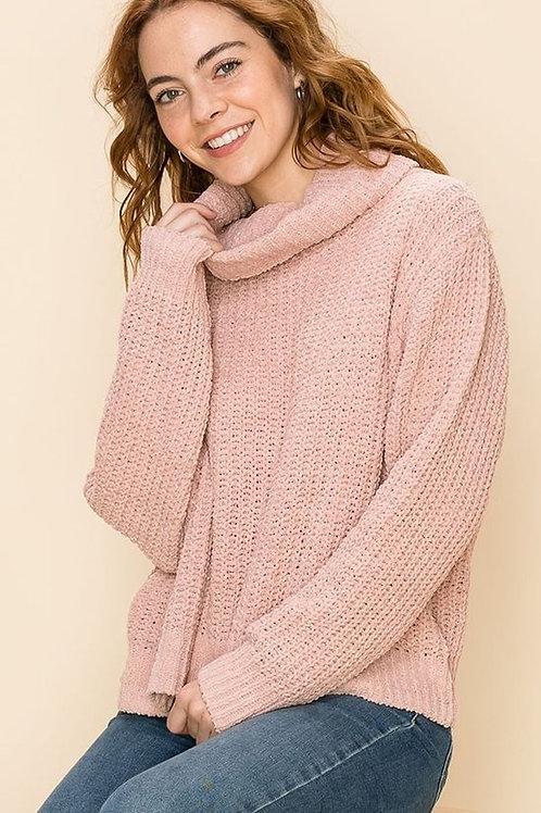 Dusty Rose Sweater