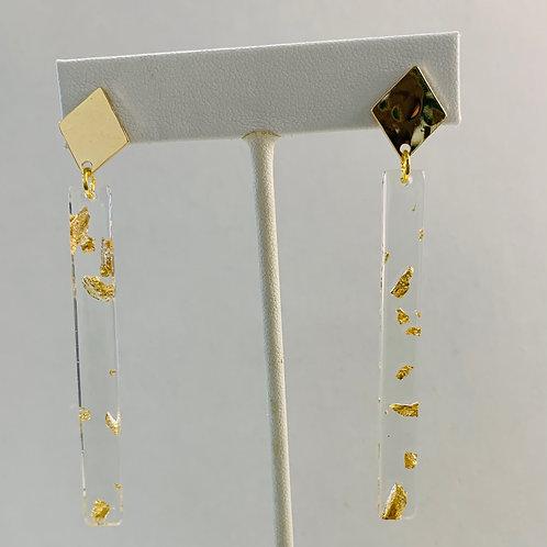 Clear & Gold stick