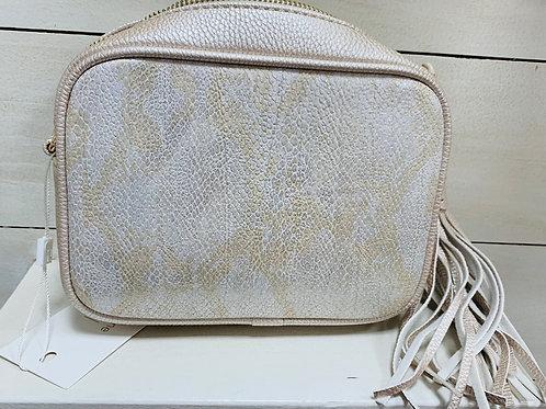 Silver & Gold Snake Bag