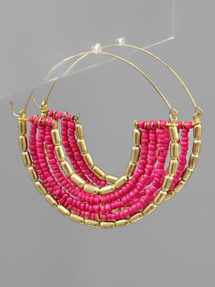 Hot Pink Hoop