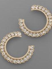Crystal Clear Earring