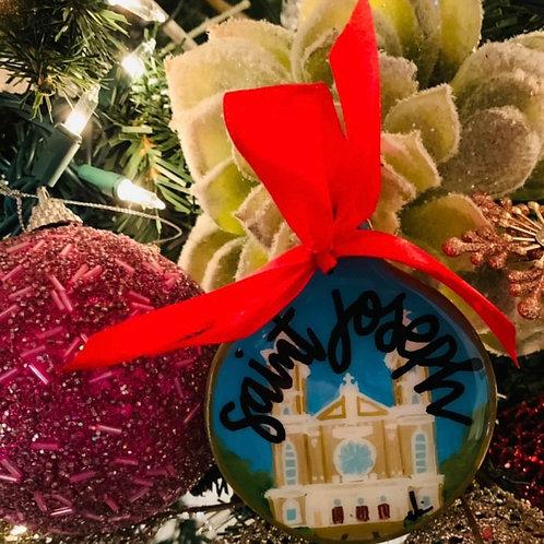 St. Joseph Church Ornament PRE ORDER