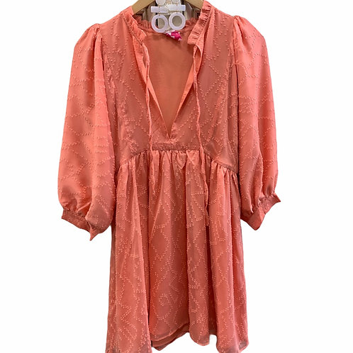 Fiona Coral Dress