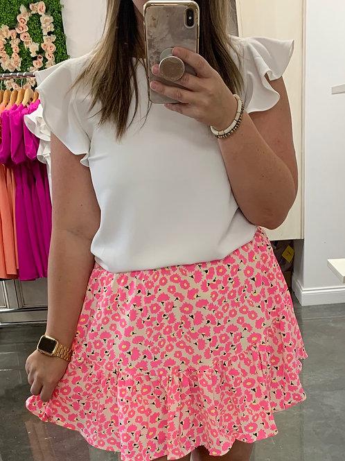 Think Pink Skirt