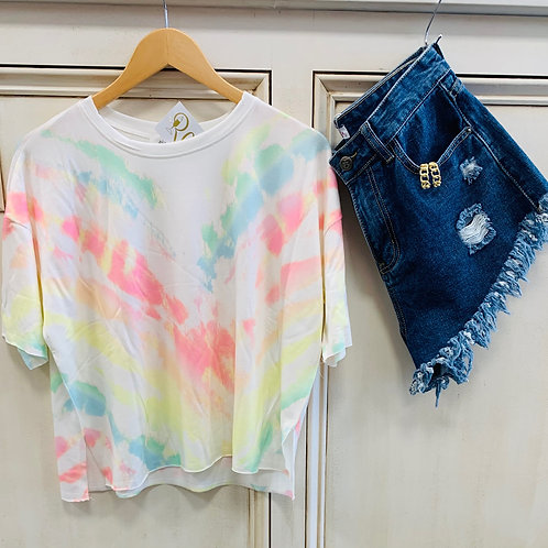 Tie Dye Cotton Top