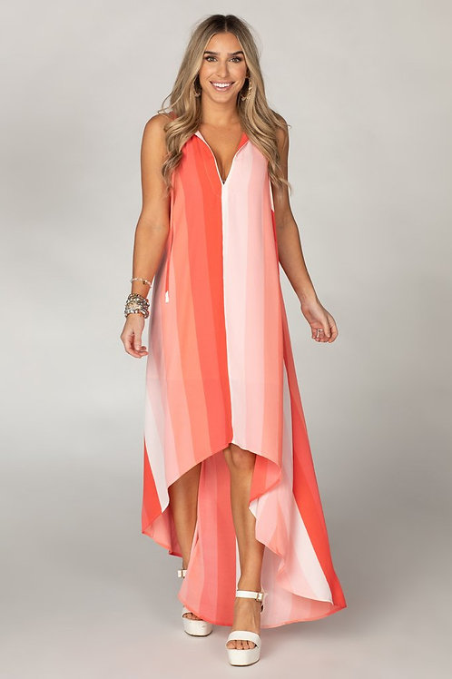 Campbell High Low Dress