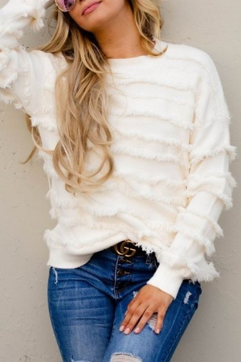 White Party Sweater