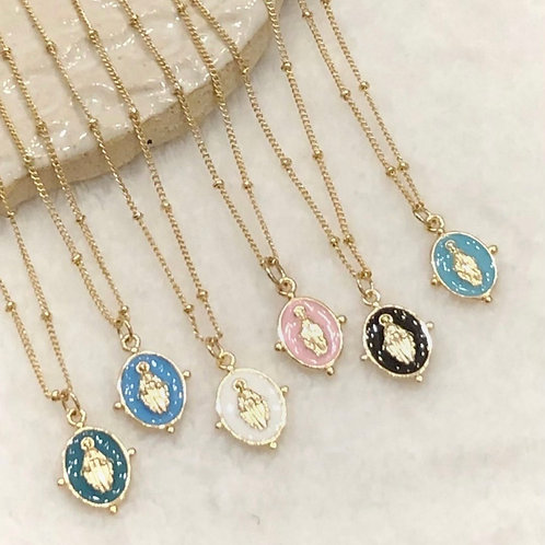 Spring Mary Necklace