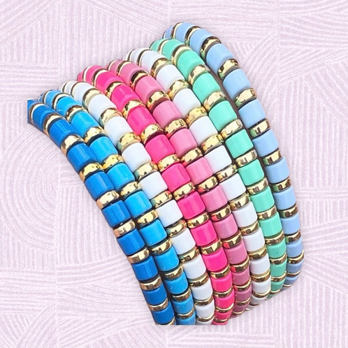 Summer Stacking Bracelets