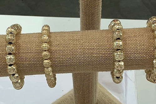 Gold Beaded bracelet