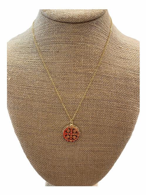 Multi Colored Religious Necklace