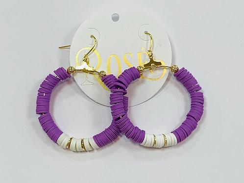 Purple Hoops