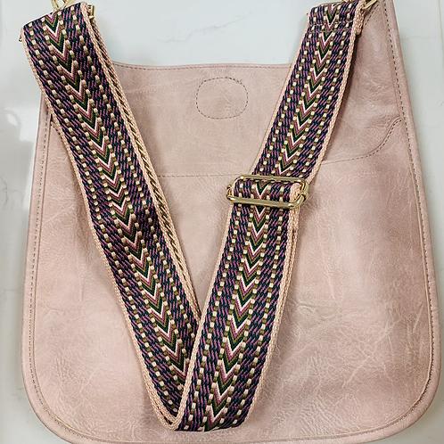 Mauve messenger bag