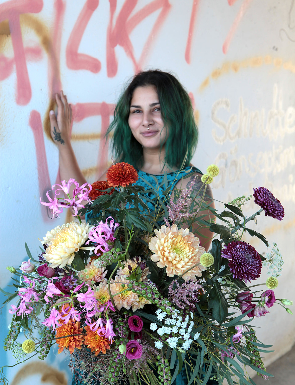 Jusra Krupka Studierende an der Fachschule für Blumenkunst