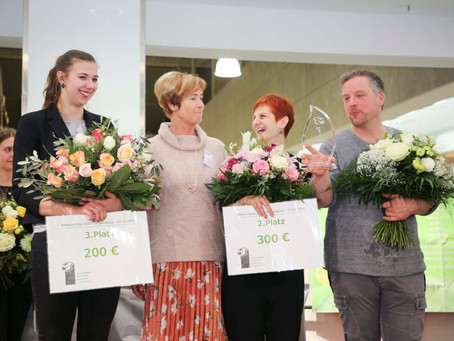 Silbernen Rose 2020 im DEZ Regensburg - Gewinner: Andreas Müssig