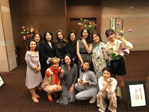 Internationaler Floristikkurs in Korea im April 2019