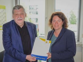 FDF-Präsident Helmuth Prinz in Berlin
