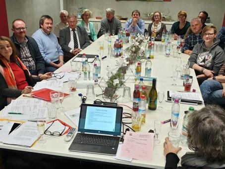 Jahreshauptversammlung 2019 – Verkauf des Rosenschlosses vollzogen