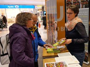 Berufspräsentation im Einkaufscenter Mira München