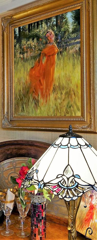 Furn-TiffanyLamp-RedDressPtg.jpg