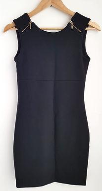 שמלת מיני מחטבת M I ZARA