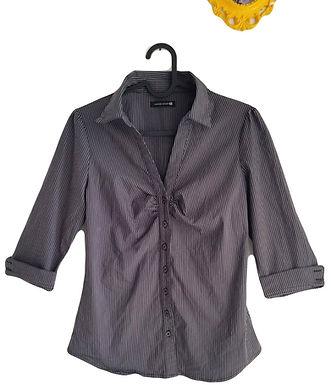 חולצה מחטבת פסים S I TAMNOON