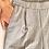 Thumbnail: מכנסי צ'ינו אפורים עם פסים דקיקים M | Bershka