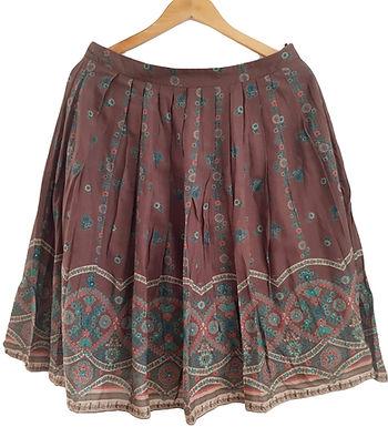 חצאית פליסה בוהו שיק M I MNG