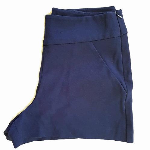 מכנסי שורטס מחויטים M I ZARA